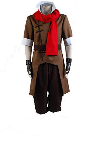 Avatar The Legend of Korra Mako Cosplay Kostüm Herren XL (Avatar Last Airbender Spielzeug)