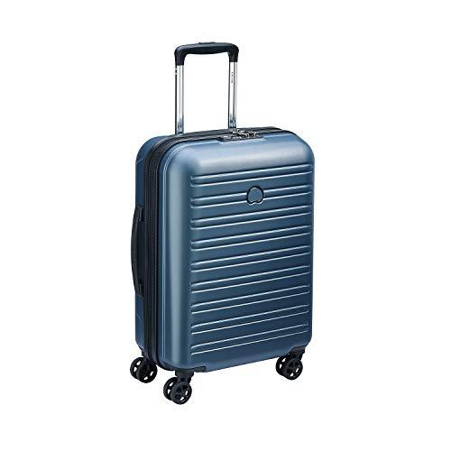 Delsey Segur 2.0 Trolley, 55 cm, 36, 3 litri, Blu