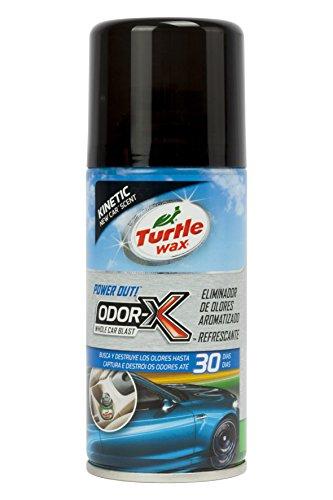Turtle Wax Limpiador Aire Acondicionado Aroma New Car 100 ml. Destruye los olores en Tan Solo 10 Minutos. Limpiando Desde el sitema de ventilación del vehículo.