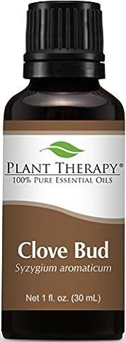 Clove Bud Essential Oil. 30 ml (1 oz). 100% Pure, Undiluted.