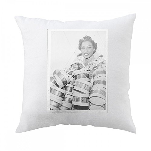 pillow-with-josephine-baker-standing-behind-several-small-drum-set