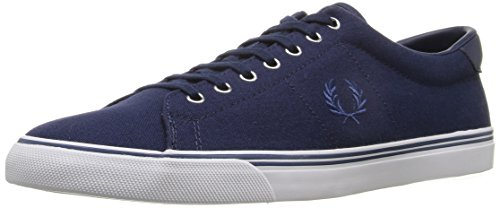 Fred Perry Underspin Canvas Carbon Blue Bleu marine