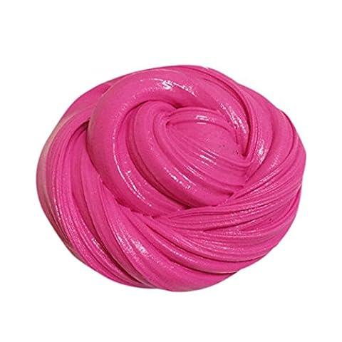 DOLDOA Flauschige Slime Duft-Stress Relief Kein Borax Kinder Spielzeug Schlamm Spielzeug (Heiß