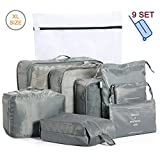 Packing Cubes Travel Luggage Organiser Bags for Backpack Suitcases, Durable Zippers, XL