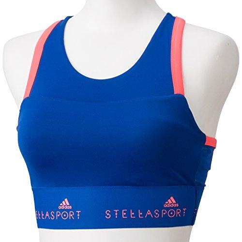 adidas Damen Unterwäsche Stellasport Bra Padded, Blau, XS, 929686 (Tennis-bh Adidas)