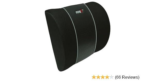 Black Type S CU11822 Lumbar Cushion