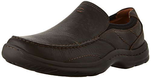 Clarks Niland Energy Slip-on Mocassins Brown Tumble