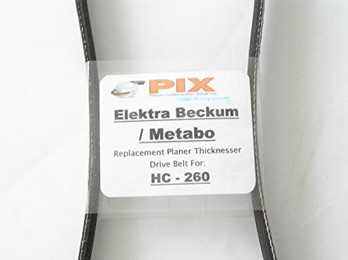 Elektra Beckum / Metabo HC-260 Planer Thicknesser - Replacement Drive Belt