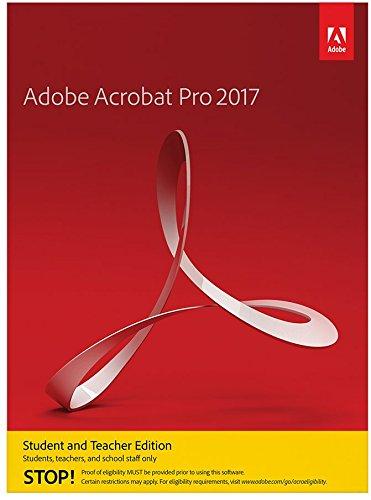 Adobe Acrobat Pro 2017 Student und Teacher Windows Englisch Online Code und Download - Bestätigung notwendig