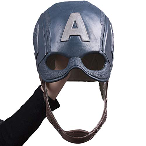 Liabb Captain America Maskenhelm Halloween Helm Masken Film Show Maskerade Thema Party - Original-halloween-kostüm-themen