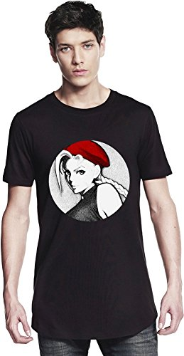 Graphic Cammy Illustration Long T-shirt Small