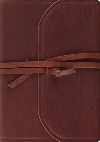 Journaling Bible-ESV-Interleaved Flap with Strap