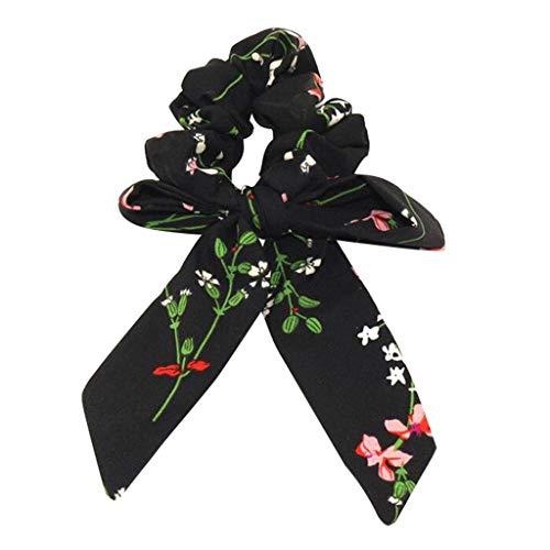Auied Haarband Damen Bogen Exquisit Streamer Haar Ring Mode Band MäDchen Haargummis Schachtelhalm Krawatte