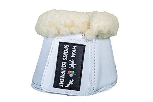 HKM 41901200.0621 Hufglocken Comfort Lack mit Polsterung, weiß Preisvergleich