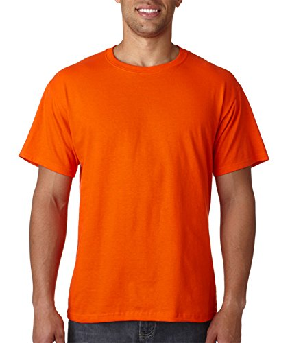 Fruit of the Loom Herren T-Shirt Rostorange