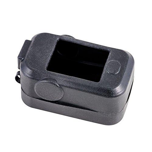 Kernmed Silikon Protektor schwarz für Pulsoximeter Schutzhülle Pulsoxymeter