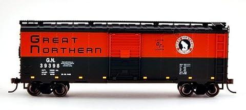Bachmann Industries 40' Box Car - Great Northern (HO Scale), Green & Orange
