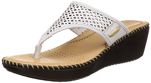 Dr-Scholls-Womens-Laser-Wedge-Leather-Slippers