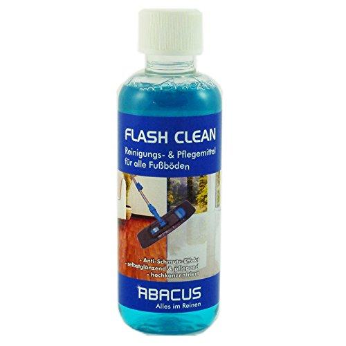 FLASH CLEAN 300 ml --- Fußbodenreiniger Laminatpflege Fliesenreiniger Fußbodenpflege Laminatreiniger Fliesenpflege Linoleumreiniger PVC-Bodenreiniger Fliesen Laminat PVC Linoleum Reiniger