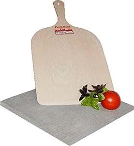 Plaque de cuisson pour le pain et pizza en basalte