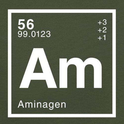 Amina Periodensystem - Herren T-Shirt - 13 Farben Olivgrün