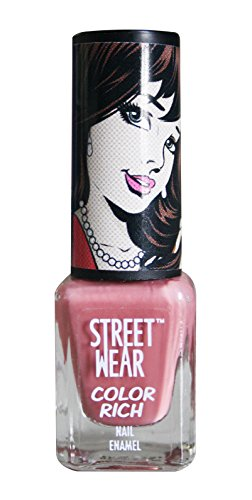 Street Wear Color Rich Nail Enamel, Mesmerize, 5ml