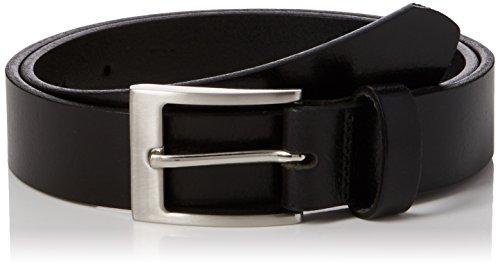 New look core leather formal, cintura uomo, nero (black 01), xxs xs