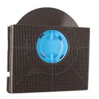filtre à charbon Hotte TYPE 303 (hotte whirlpool) / CHF303 - Filtre de Hotte à Charbon Type 303 Forme Carré avec Casquette