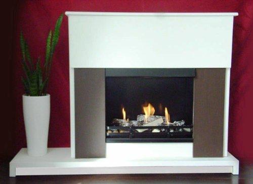Preisvergleich Produktbild BBT@ / Gelkamin Ethanolkamin Nicole Luxus / Für Brenngel oder Bio-Ethanol / BBT-10001220 / Echtes Kamin-Feuer ohne Rauch, Asche oder Staub
