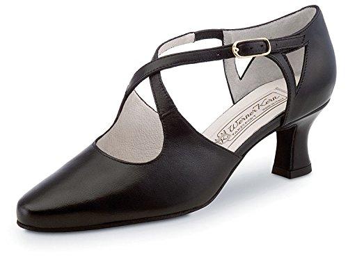 werner-nucleaire-chaussures-de-danse-ines-55-femme-en-cuir-noir-40-schwarz