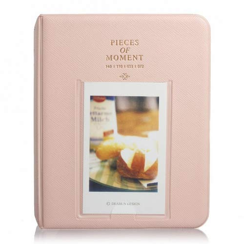 BestMall Co., Ltd Mini Bilderalbum für Polaroidbilder, 64 Hüllen rose - 2