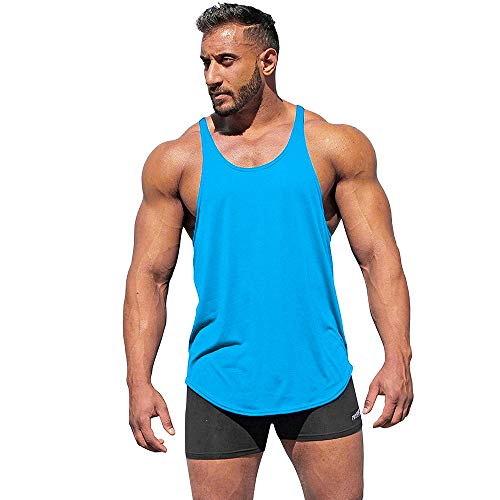 ZODOF Sports Stitching Chaleco sin Mangas Gyms para Hombre Fitness Muscle Mesh Hoodie Camiseta sin Mangas Single Camiseta Top Chaleco