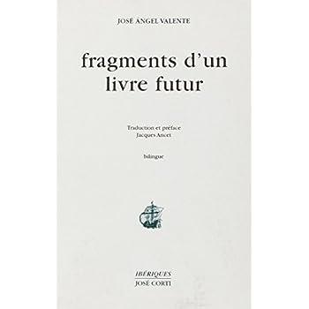 Fragments d'un livre futur (bilingue, livre non massicoté)