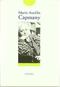 Obra Completa-VII- María Aurelia Capmany par  María Aurelia Capmany