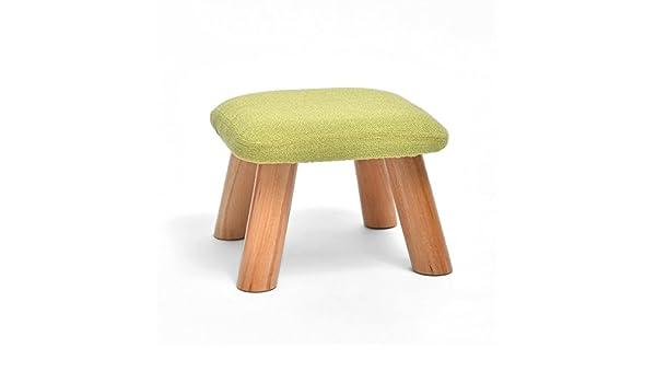 Iaizi poggiapiedi quadrati piccoli sgabelli in legno cucina