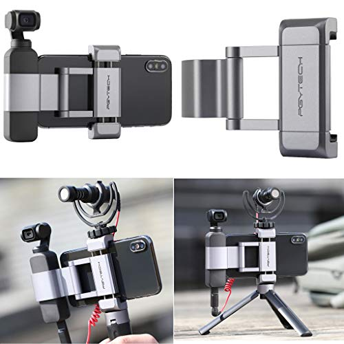 TianranRT PGYTECH Quick Release Fixing Halterung für DJI OSMO Pocket Phone Holder Adapter