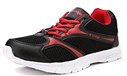 Sparx Womens Black and Red Running Shoes (Sl-510) (4 UK)