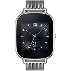 Asus ZenWatch 3 WI503Q-1LDBR0001 – Reloj inteligente (Amoled, 400 x 400 Qualcomm Snapdragon Wear 2100, 512 MB, 4 GB, Android Wear, pulsera de piel)