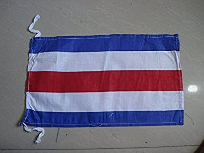 C- International Maritime Signal Code Flag , 100% Cotton , 8