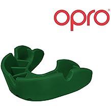 OPRO Mundschutz Bronze Junior - Kinder Zahnschutz für Jungen und Mädchen - selbst anformbar - für Handball, Karate, Rugby, Hockey, MMA - mit Zahnschutzgarantie bis zu einem Wert von 5.500 € - im UK entworfen & hergestellt