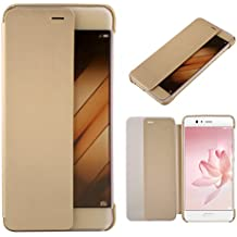 Huawei P10 Plus Case, Huawei P10 Plus Cover, Danallc Cellphone Case Shell Shell Case [ Slim Fit ] Protective Skin Cover for Huawei P10 Plus (Golden)