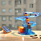MORE VIEWS Novelty Educational Solar Power Roller Coaster Toys For Kids