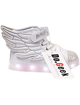DoGeek Scarpe LED bambini Scarpe Che Illuminano Bambino Scarpe Luminose Scarpa Bambino LED Bambina la Sportiva...