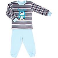 Makoma Baby giovani Pyjama pigiama 2pezzi in maglietta a maniche lunghe e pantaloni (80–104)