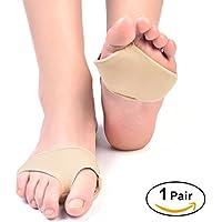 yosoo 2Gelkissen für Mittelfußknochen, Fuß-Gel Vorfuß Unterstützung Schmerzlinderung Wunden Absorber Kissen Innensohle... preisvergleich bei billige-tabletten.eu
