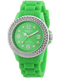 Madison New York Unisex-Armbanduhr Juicy Glamour Analog Silikon U4101F2