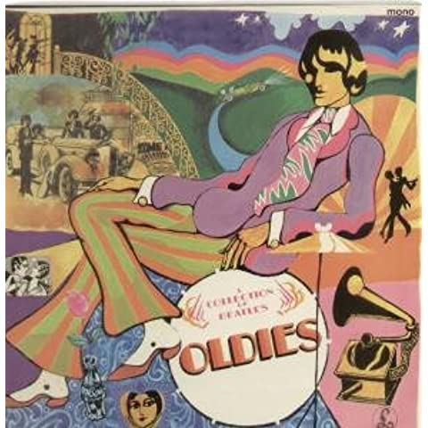 A COLLECTION OF BEATLES OLDIES LP UK PARLOPHONE 1966 16 TRACK MONO ORIGINAL FIRST PRESSING BLACK/YELLOW LABEL DESIGN WITH SOLD IN UK TEXT XEX 619 -1G MATRIX G&L SLEEVE SMALL MONO ON TOP CORNER (PMC7016)