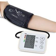 Esfigmomanómetro electrónico tipo brazo superior, 90 juegos de función de memoria de datos dual y