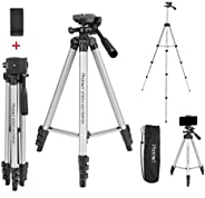 Photron Stedy 420 Tripod 50 Inch with Mobile Holder for Smart Phone, Camera, Mobile Phone   Extends to 1240mm