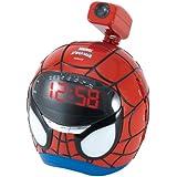 Lexibook RP160SP Radio Réveil Projecteur Spiderman FM / AM Horloge Alarme
